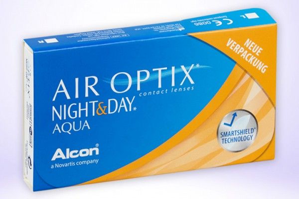 Monatslinse AIR OPTIX® NIGHT & DAY® Aqua