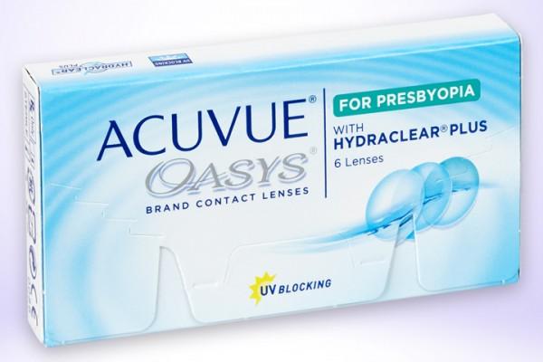Wochenlinsen Oasys Bifocal (6er)