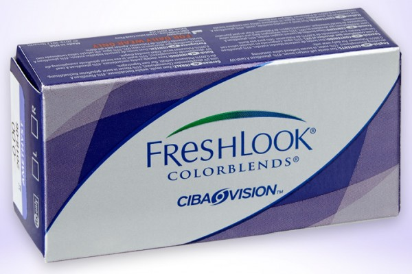 Farblinse Farbkontaktlinse Freshlook Colorblends