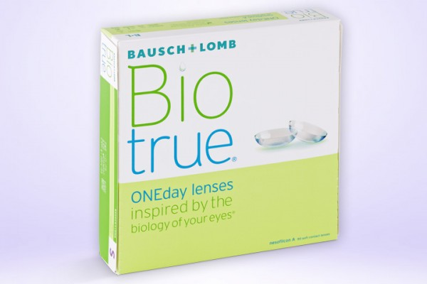 Tageslinse Biotrue® ONEday 90-er Box