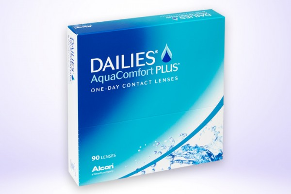 Tageslinse DAILIES® AquaComfort Plus™ 90-er Box