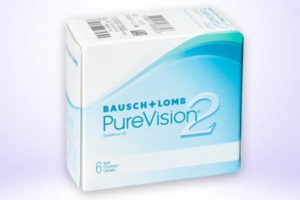 Monatslinse PureVision 2 HD 6er