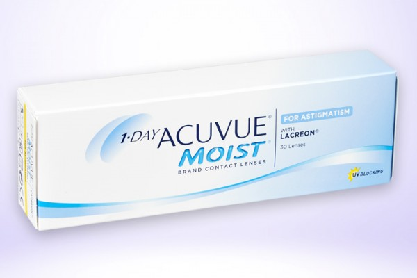 Torische Tageslinse One Day Acuvue Moist 30er