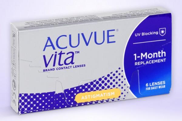 Monatslinse ACUVUE® VITA ™ for Astigmatism