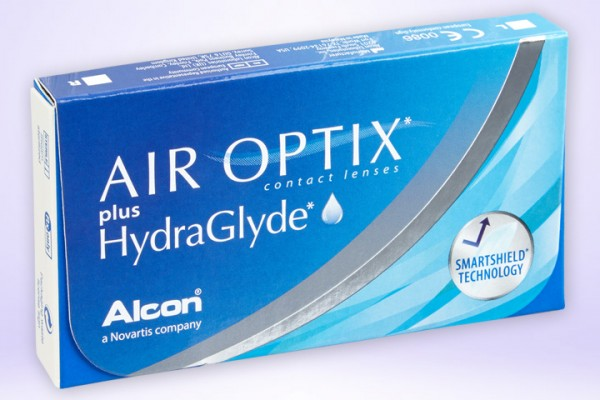 Monatslinse AIR OPTIX® plus HydraGlyde®