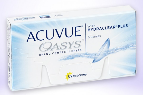 Wochenlinse ACUVUE® OASYS® 6-er Box