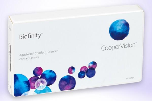 Monatslinsen Biofinity 6er