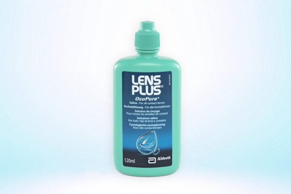 Lens Plus Kochsalzlösung 120ml