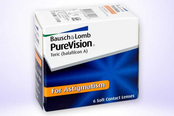 Monatslinse PureVision® for Astigmatism