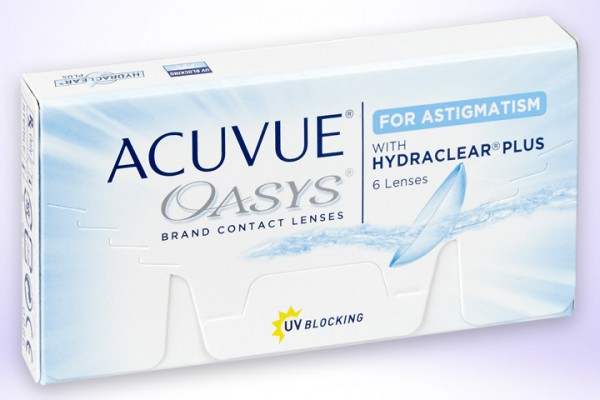 Wochenlinse Acuvue Oasys Astigmatism