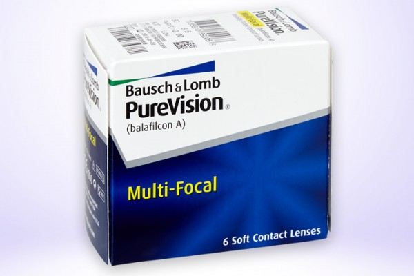 Monatslinse PureVision Multi-Focal 6er
