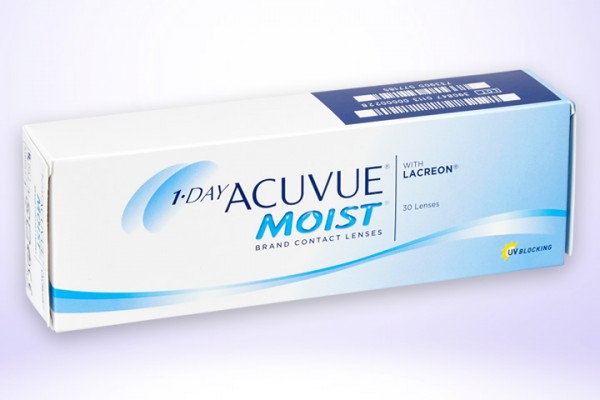 Tageslinse One Day Acuvue Moist 30er